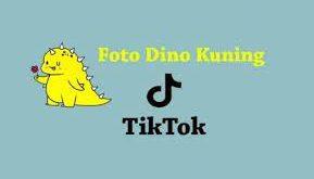 Viral Twibbon Lucu Dinosaurus Hijau Dan Kuning Viral di TikTok