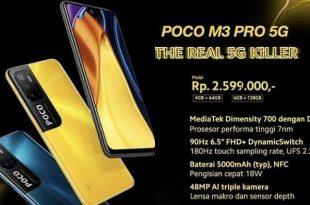 Reviw HP Xiaomi Poco M3 Pro 5g Harga Dan Spesifikasi