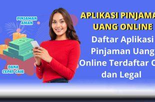 Daftar Aplikasi Pinjaman Online Resmi